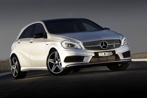 Mercedes Benz A Class 2013 featured
