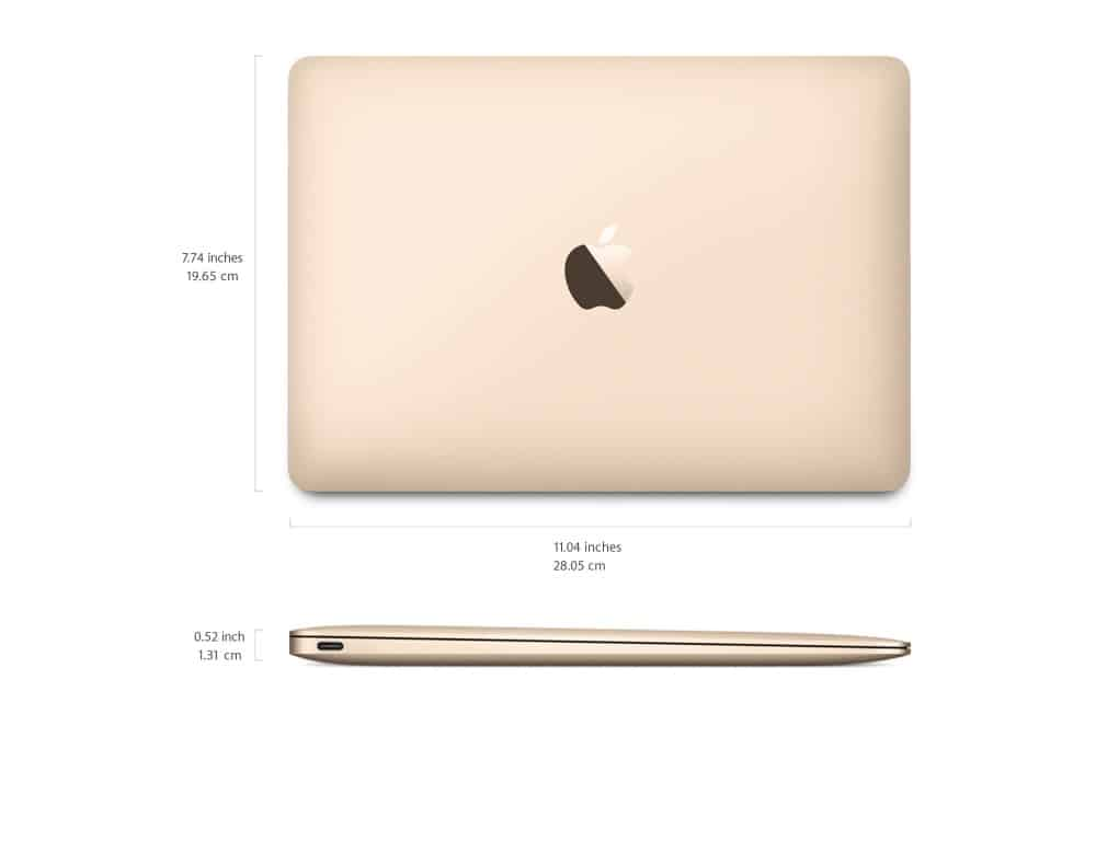 macbook 2015 dimensions