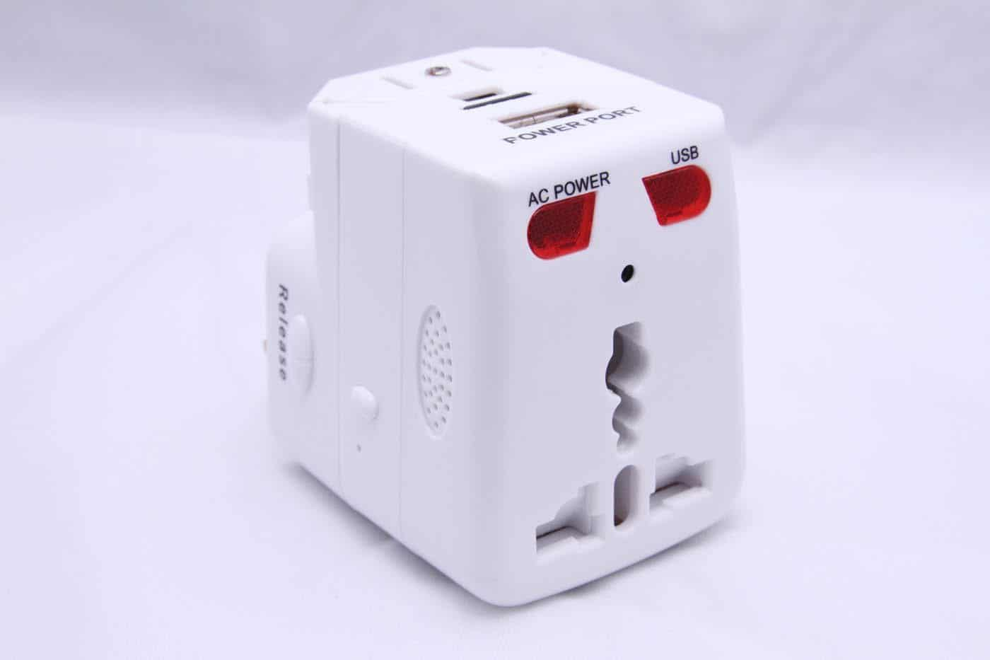 socket spy camera